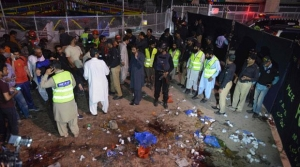 A suicide bomber outside of playground killed at least 69 in Lahoe, Pakistan