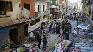 Suicide bombers in Beirut strike again. 23 killed