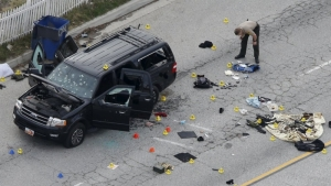 San Bernardino attack. 14 killed, 22 injured