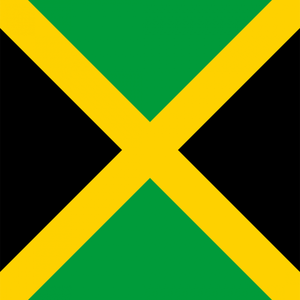 Jamaica flag profile picture overlay