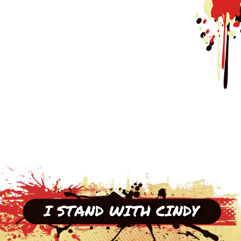 STAND WITH CINDY