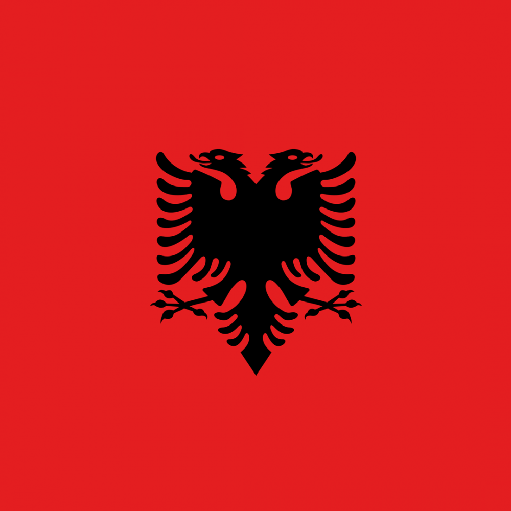 Albania flag profile picture overlay