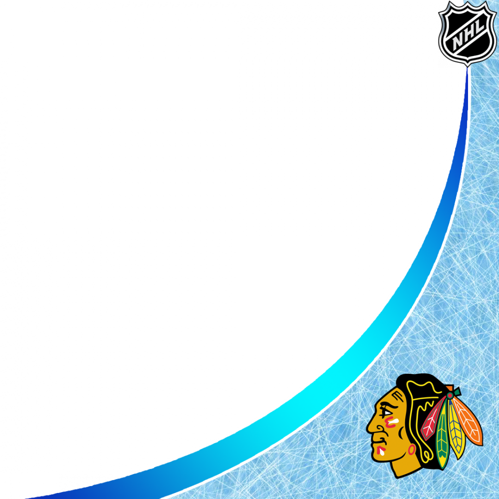 Chicago Blackhawks profile picture overlay filter frame logo