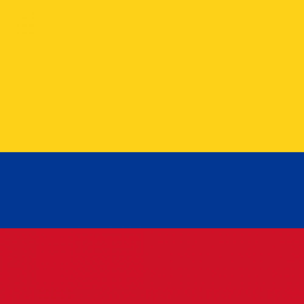 Colombia flag profile picture overlay