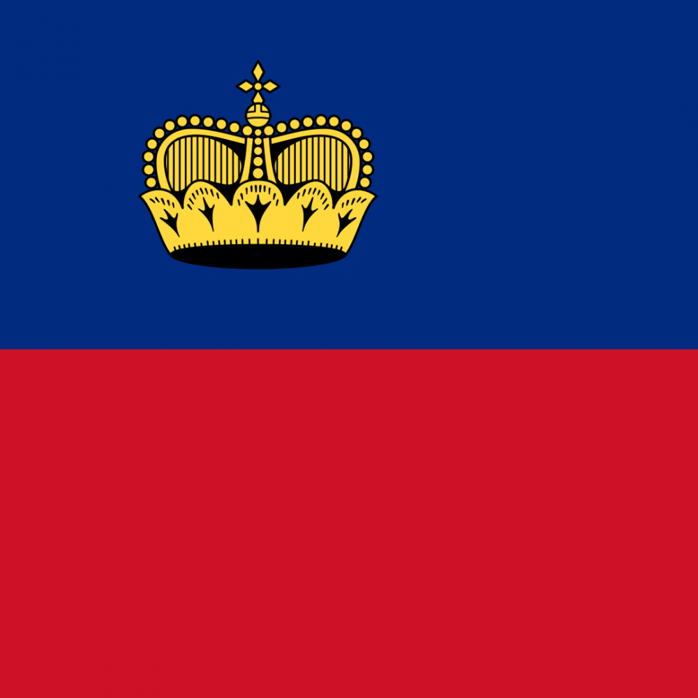 Liechtenstein flag profile picture overlay