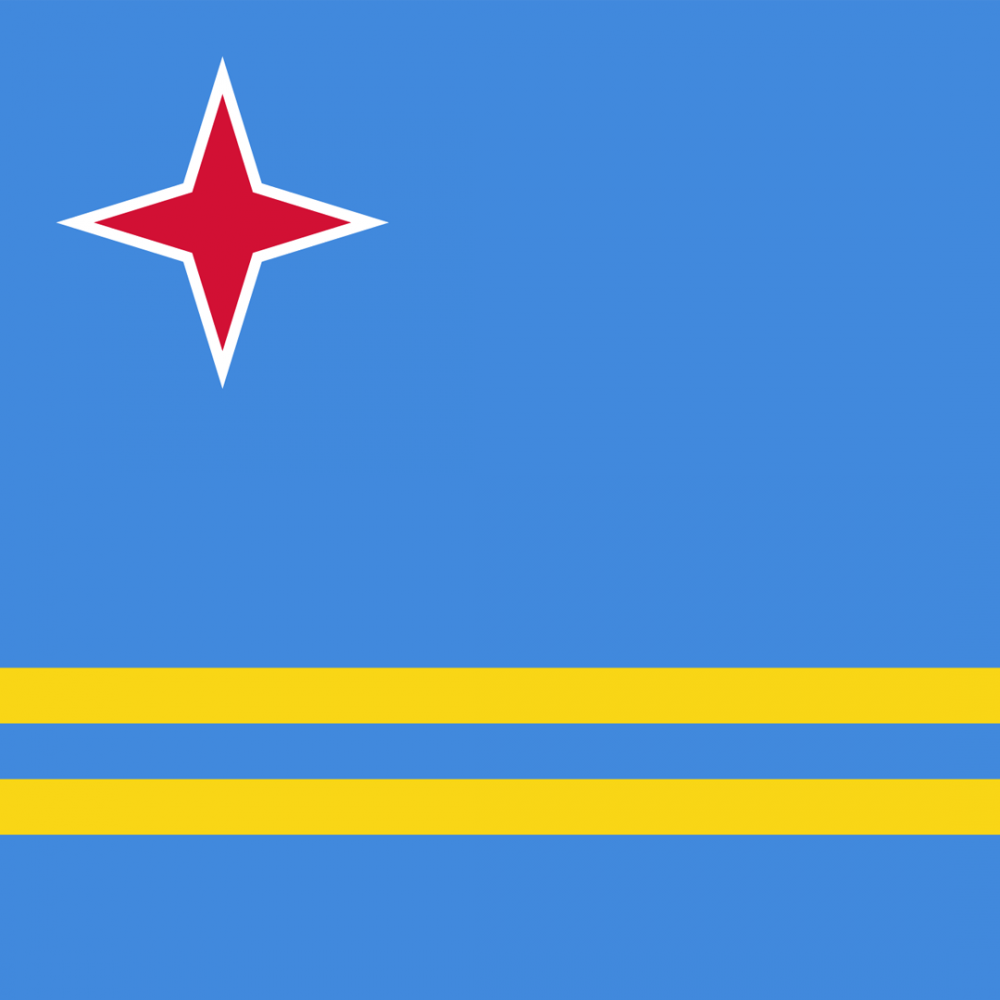 Aruba flag profile picture overlay