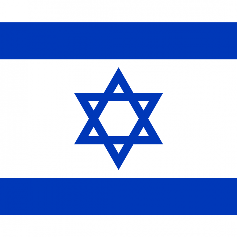 Israel flag profile picture overlay