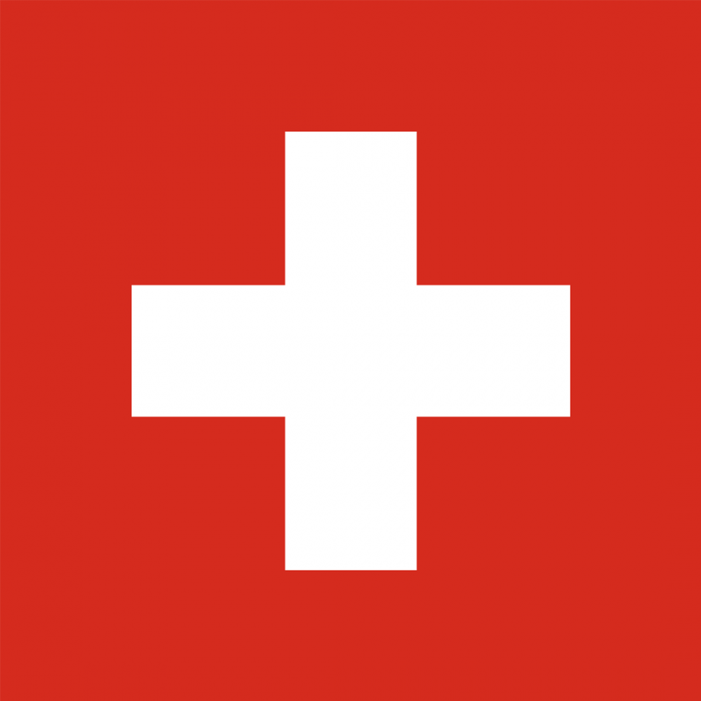Switzerland flag profile picture overlay filter