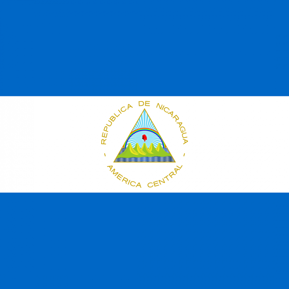 Nicaragua flag profile picture overlay