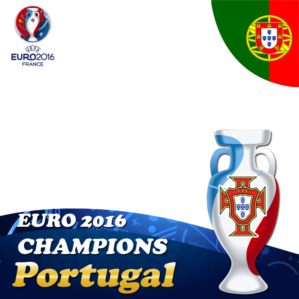 Portugal EURO 2016 Champions profile picture overlay frame