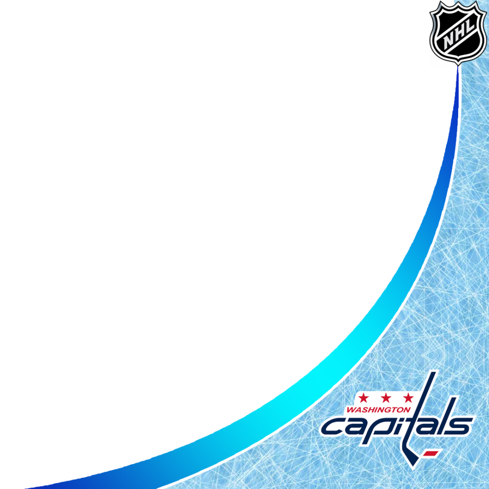 Washington Capitals profile picture overlay filter frame logo