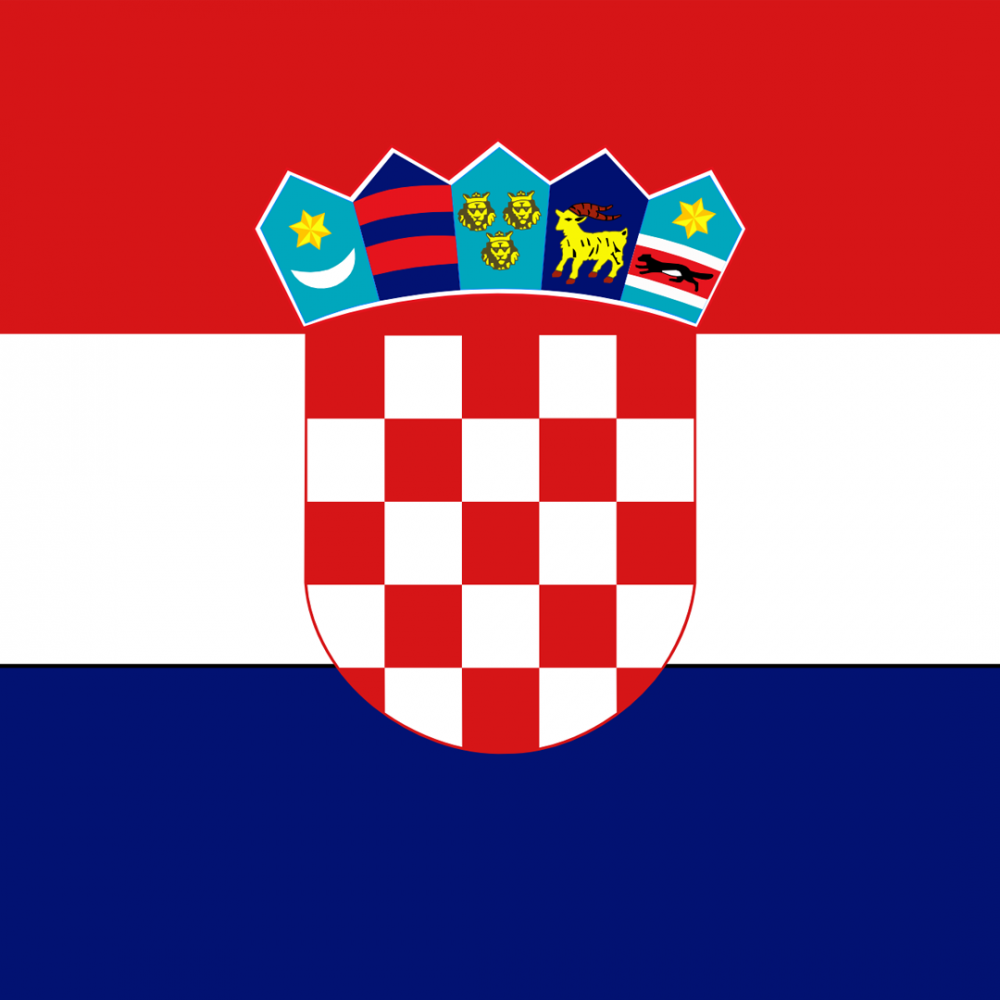 Croatia flag profile picture overlay