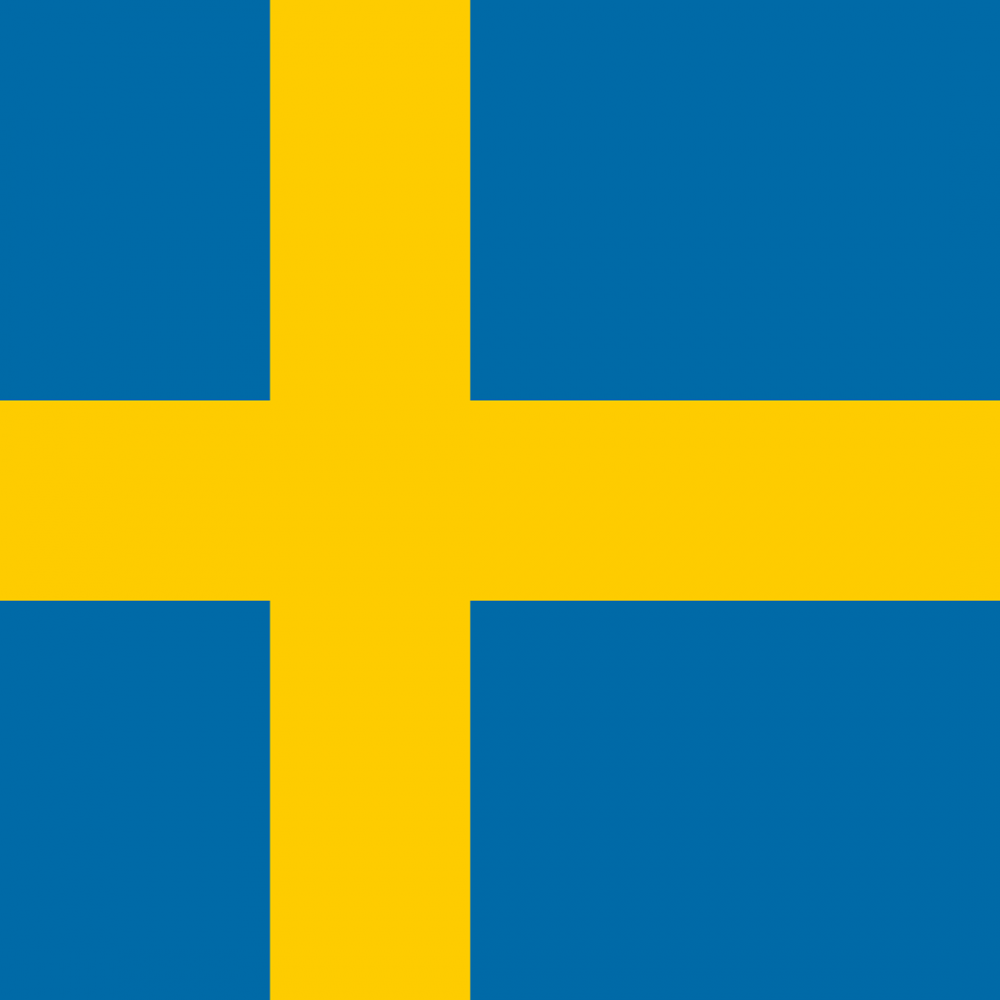 Swedish flag profile picture overlay