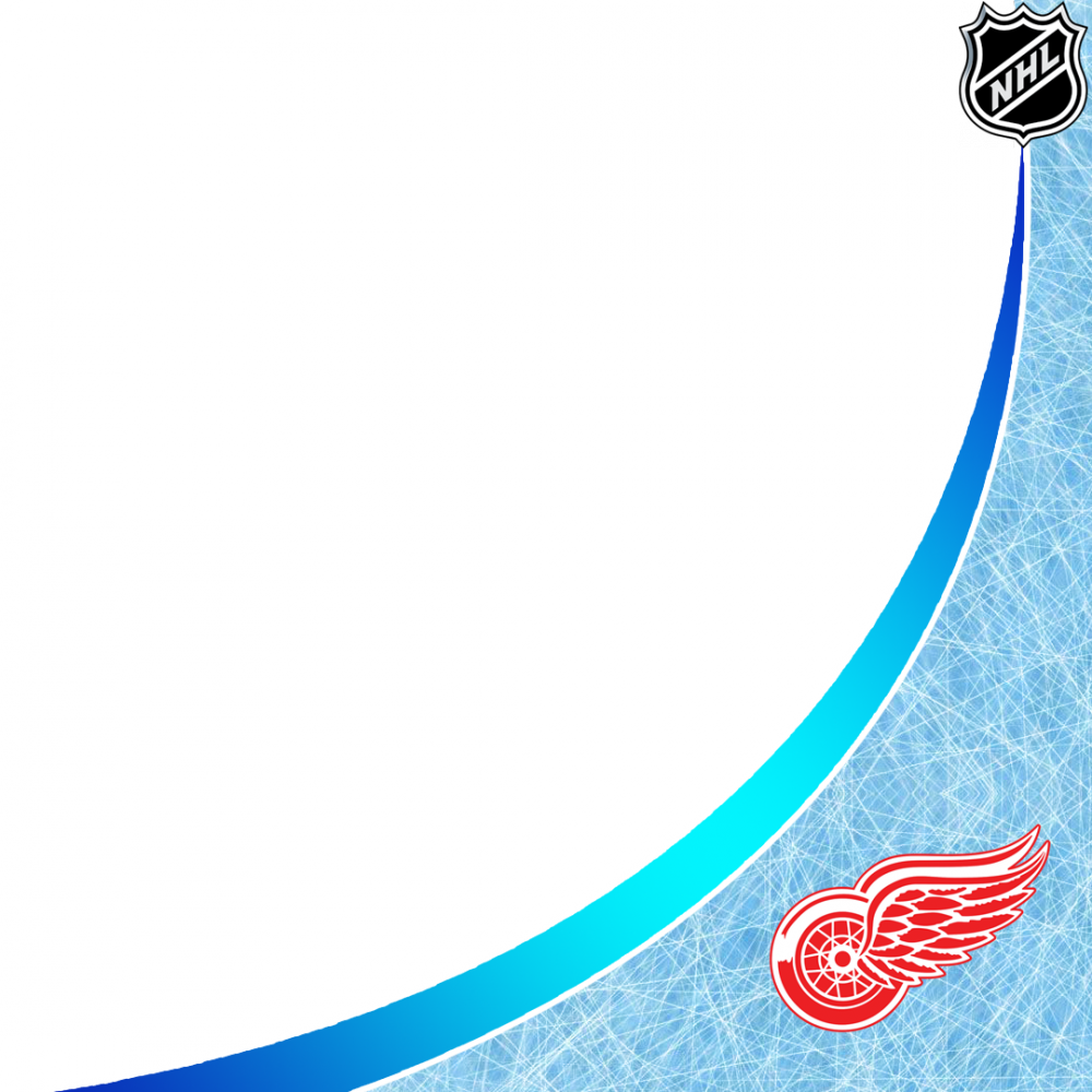 Detroit Red Wings profile picture overlay filter frame logo