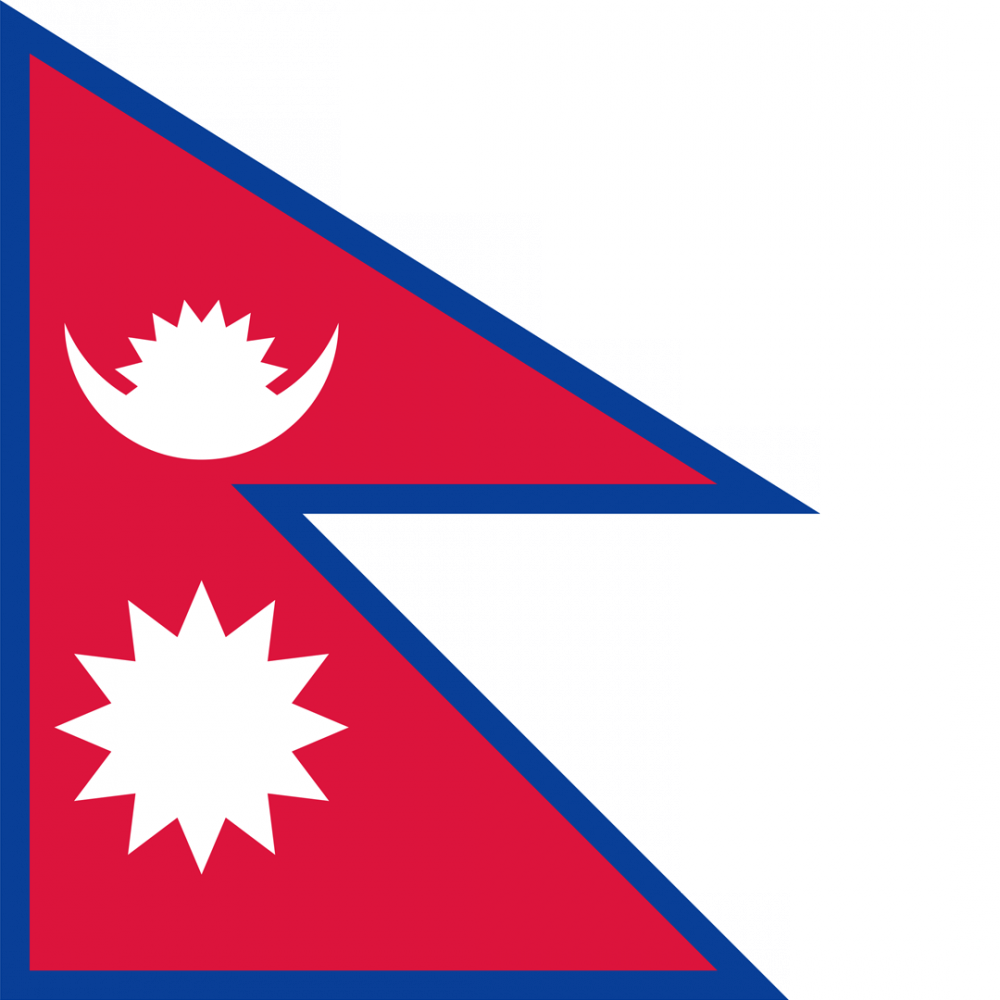 Nepal flag profile picture overlay
