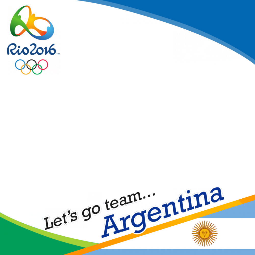 Argentina Rio 2016 profile picture overlay frame filter