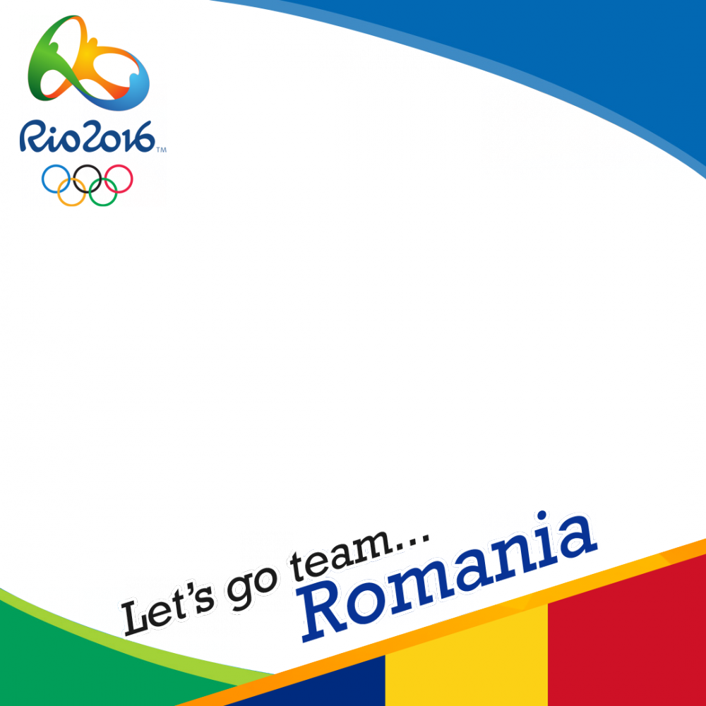 Romania Rio 2016 team profile picture overlay frame filter