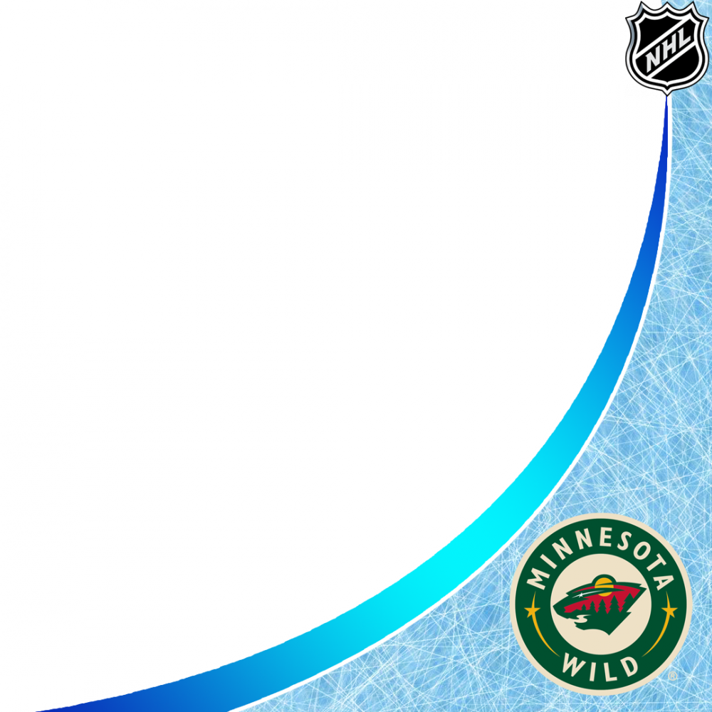 Minnesonta Wild profile picture overlay filter frame logo