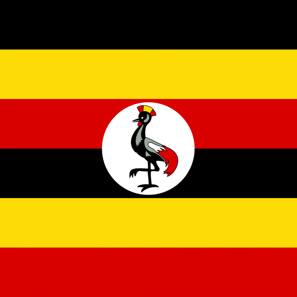 Uganda flag profile picture overlay