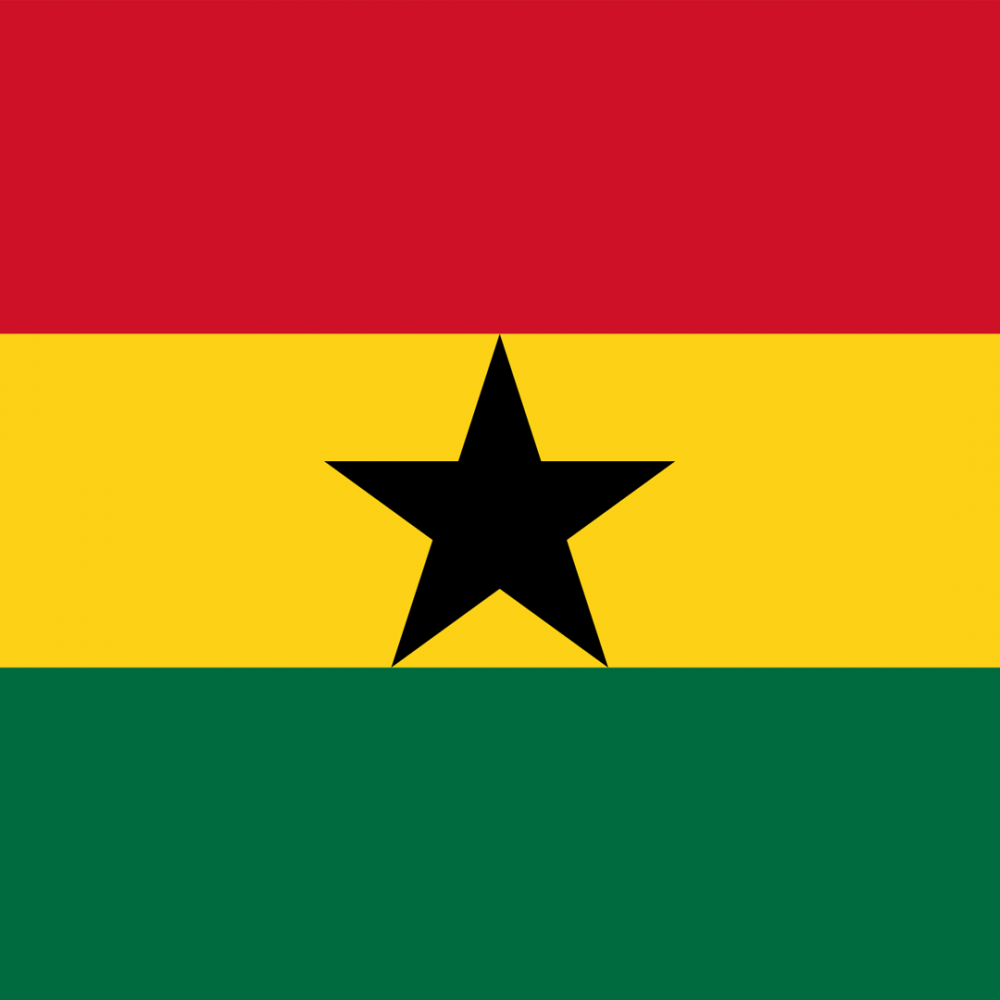 Ghana flag profile picture overlay