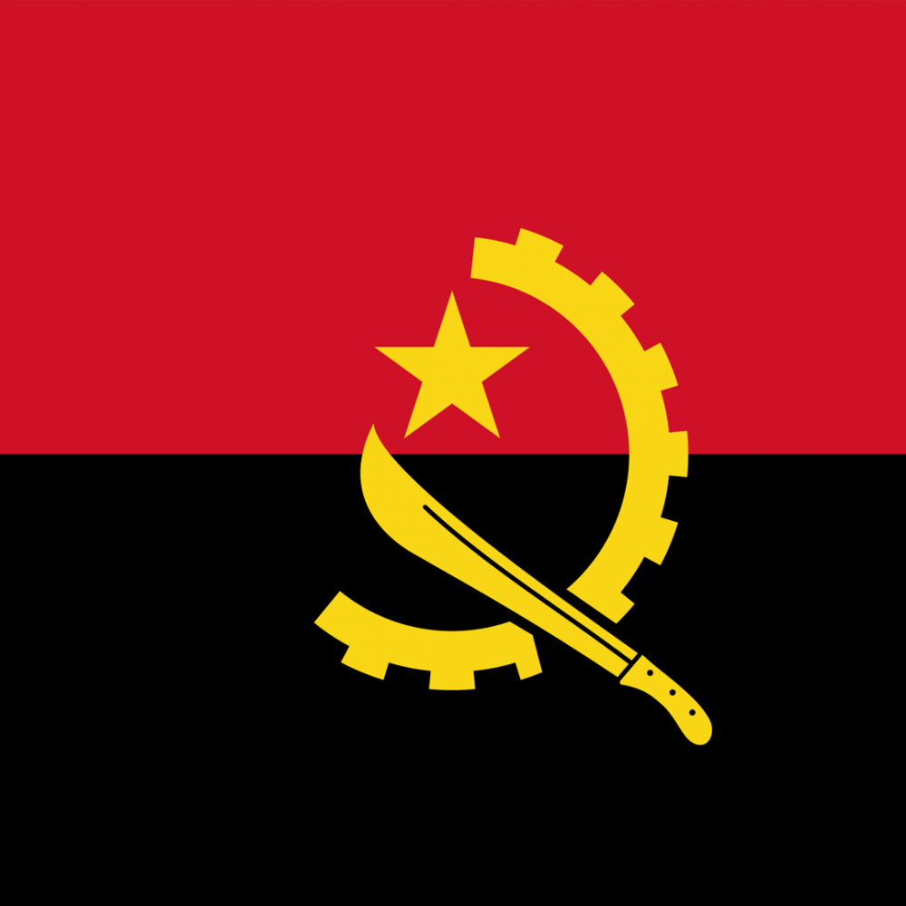Angola flag profile picture overlay