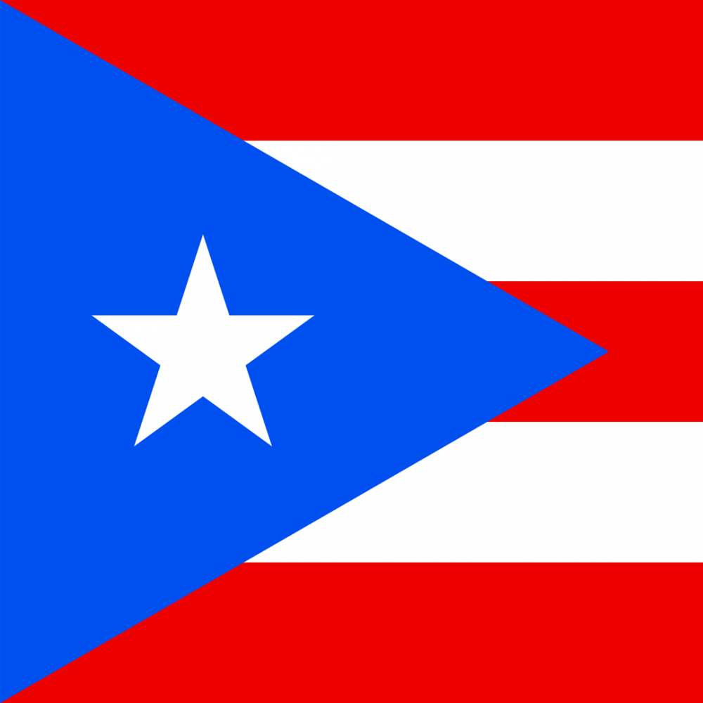 Puerto Rican flag profile picture overlay