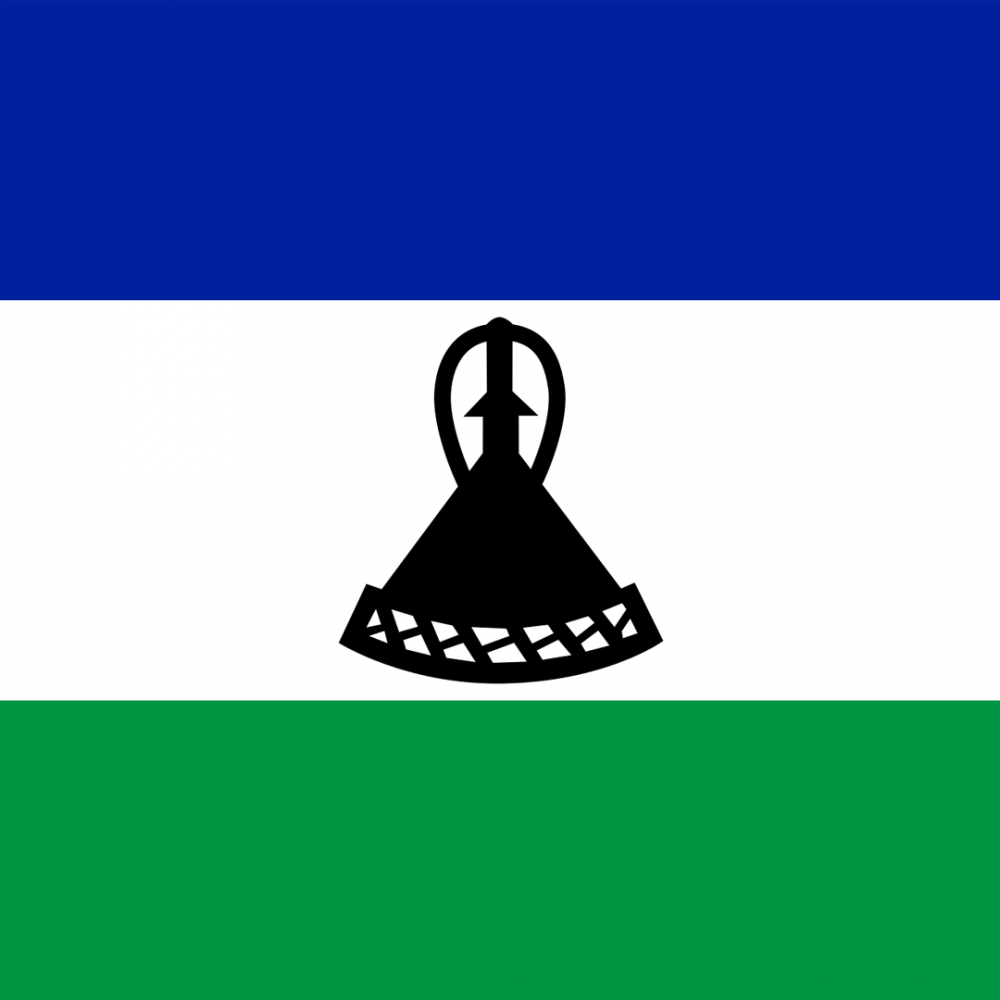 Lesotho flag profile picture overlay