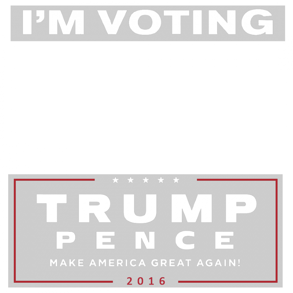 Trump Pence 2016 picture overlay frame filter