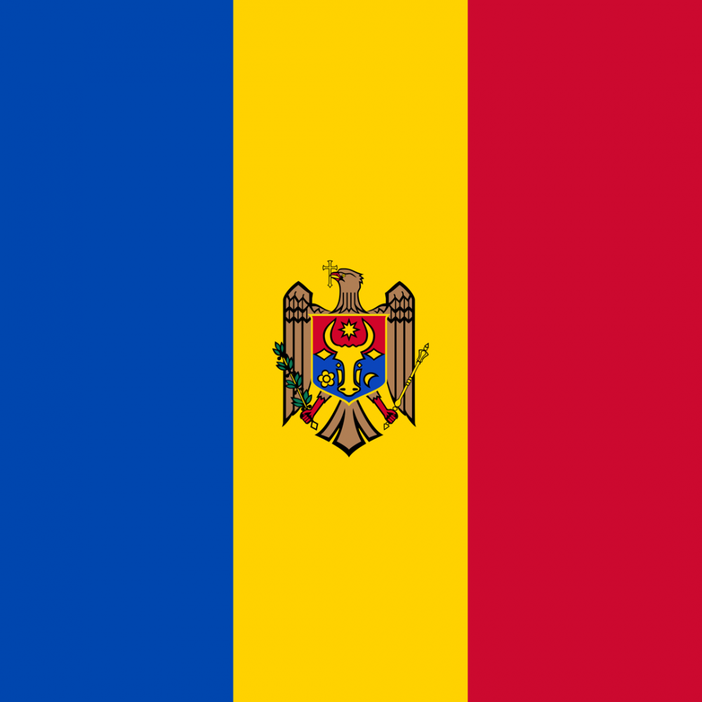 Moldova flag profile picture overlay