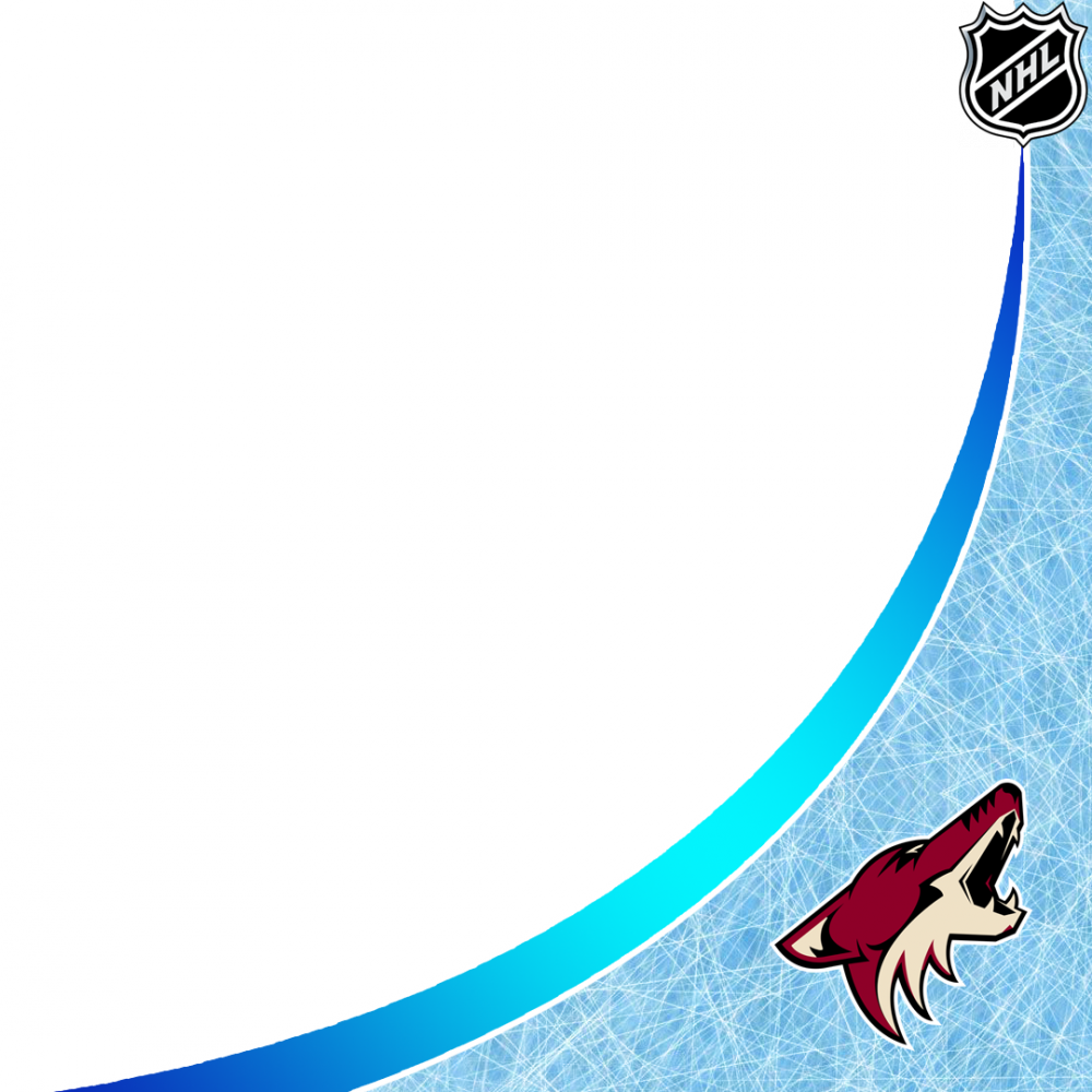 Arizona Coyotes profile picture overlay filter frame logo