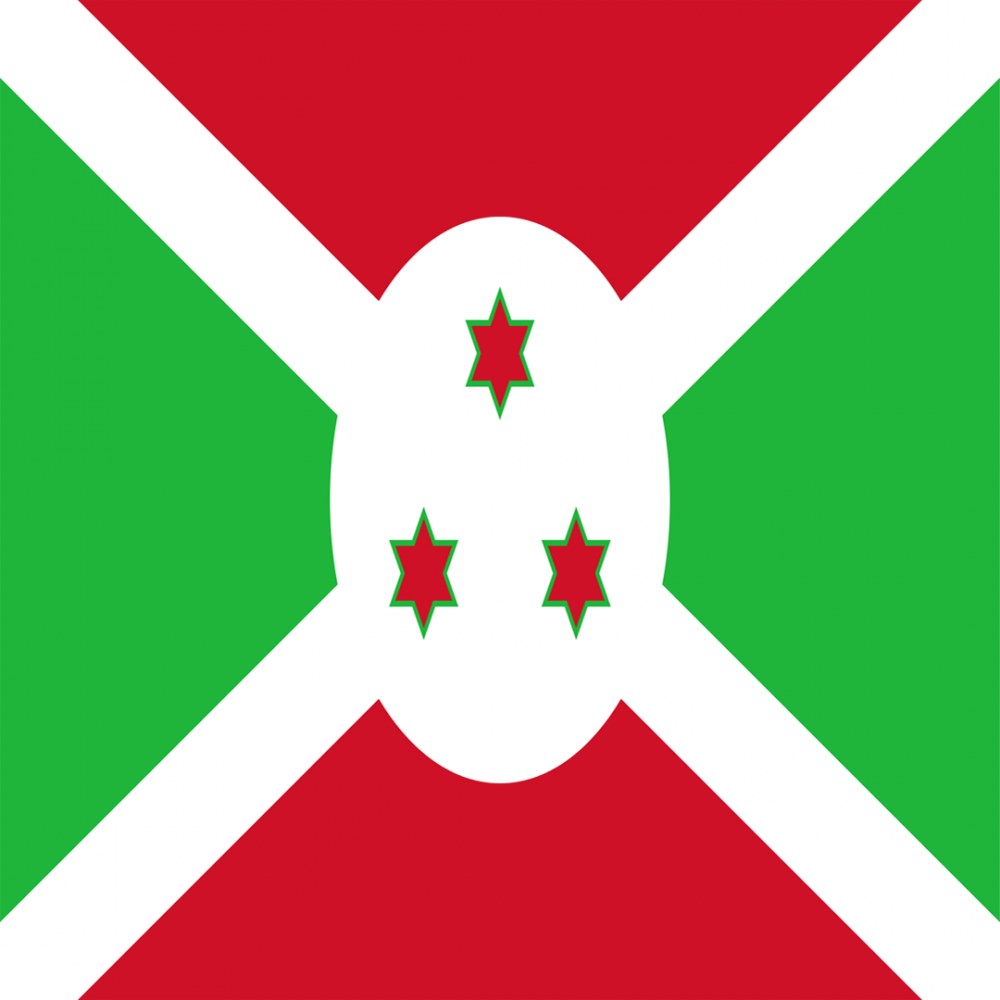 Burundi flag profile picture overlay