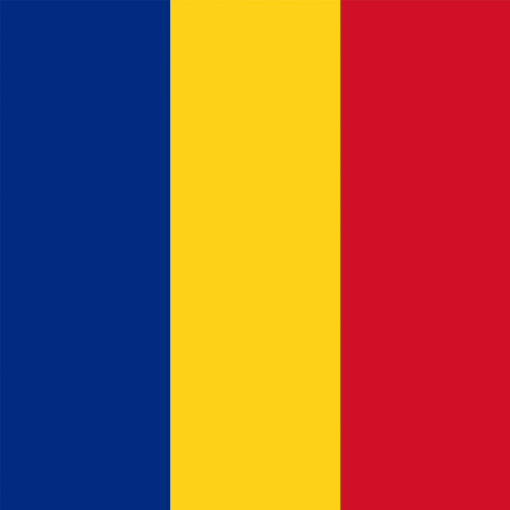 Romania flag profile picture overlay