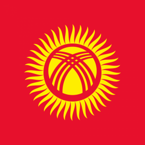 Kyrgyzstan flag profile picture overlay