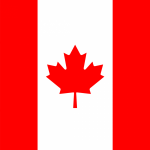 Canada flag profile picture overlay filter