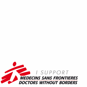 I support Doctors Without Borders profile picture overlay frame filter