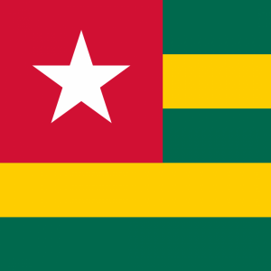 Togo flag profile picture overlay