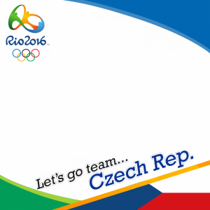 Czech Rep. Rio 2016 team profile picture overlay frame filter