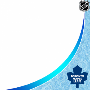Toronto Maple Leafs profile picture overlay filter frame logo