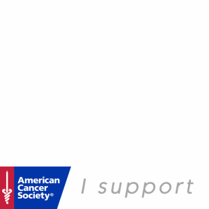 I support American Cancer Society profile picture overlay frame filter