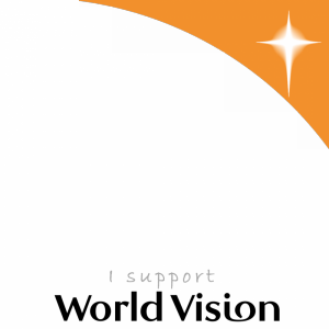 I Support World Vision profile picture overlay frame filter