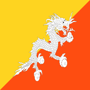 Bhutan flag profile picture overlay