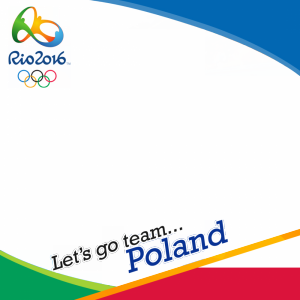 Poland Rio 2016 team profile picture overlay frame filter