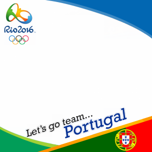 Portugal Rio 2016 team profile picture overlay frame filter