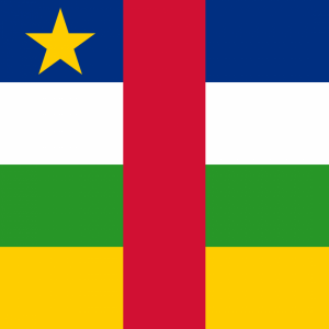 Central African Republic flag profile picture overlay