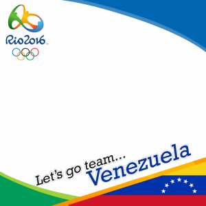 Venezuela Rio 2016 team profile picture overlay frame filter