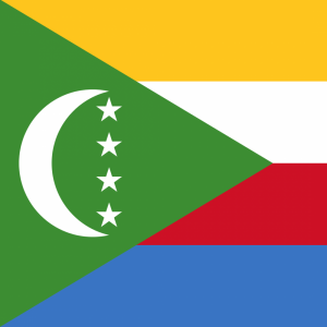 Comoros flag profile picture overlay