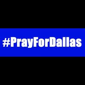 Pray for Dallas profile picture overlay frame #prayfordallas