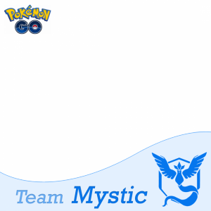 Team Mystic Pokemon Go profile picture frame filter