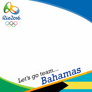 Bahamas Rio 2016 team profile picture overlay frame filter