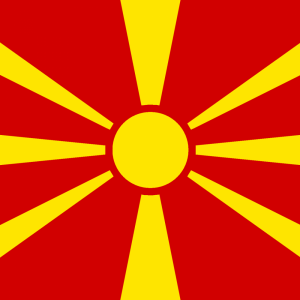 Macedonia flag profile picture overlay